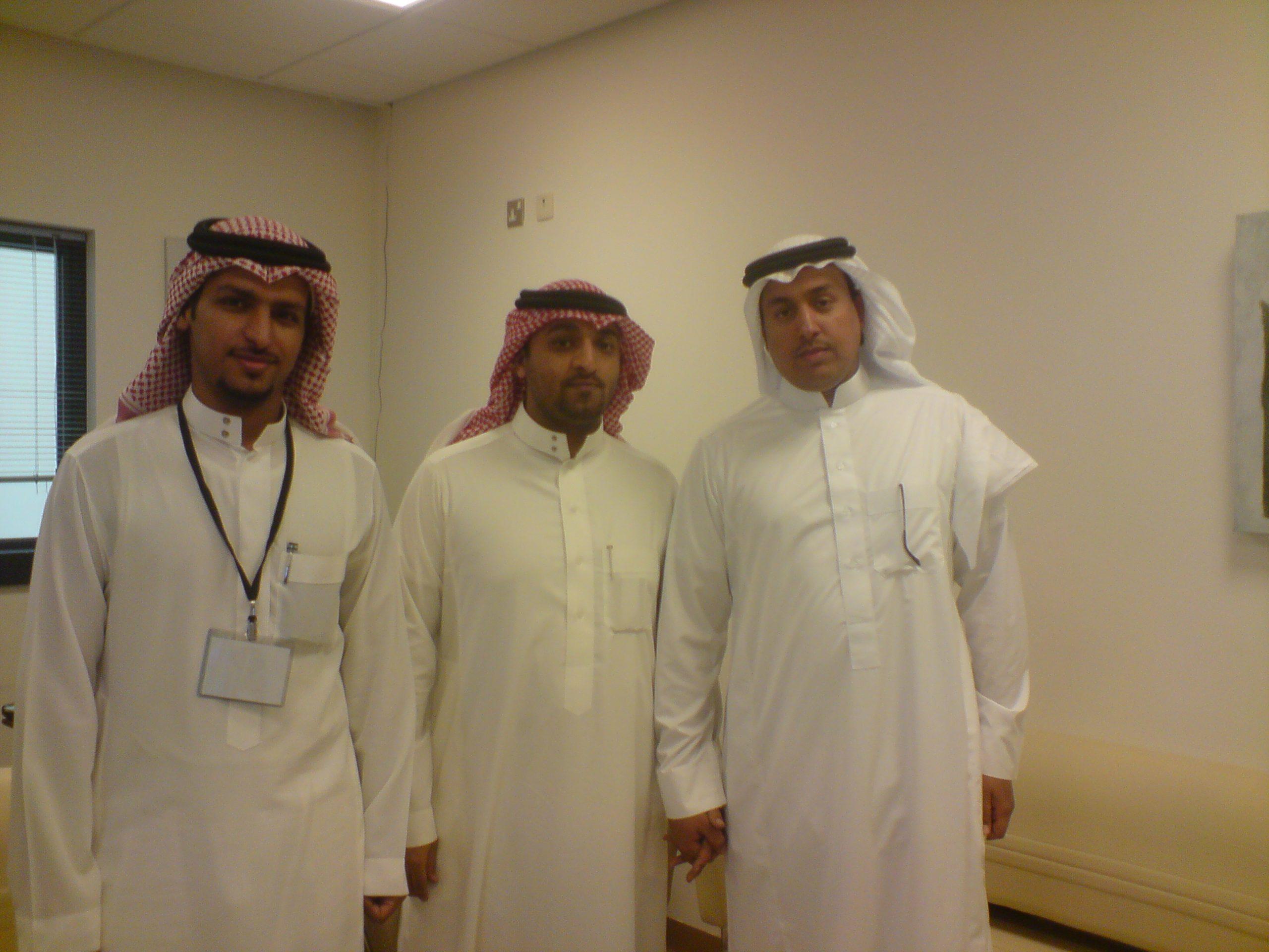 مع الأخوين عبدالرحمن الخراشي وتركي السعد