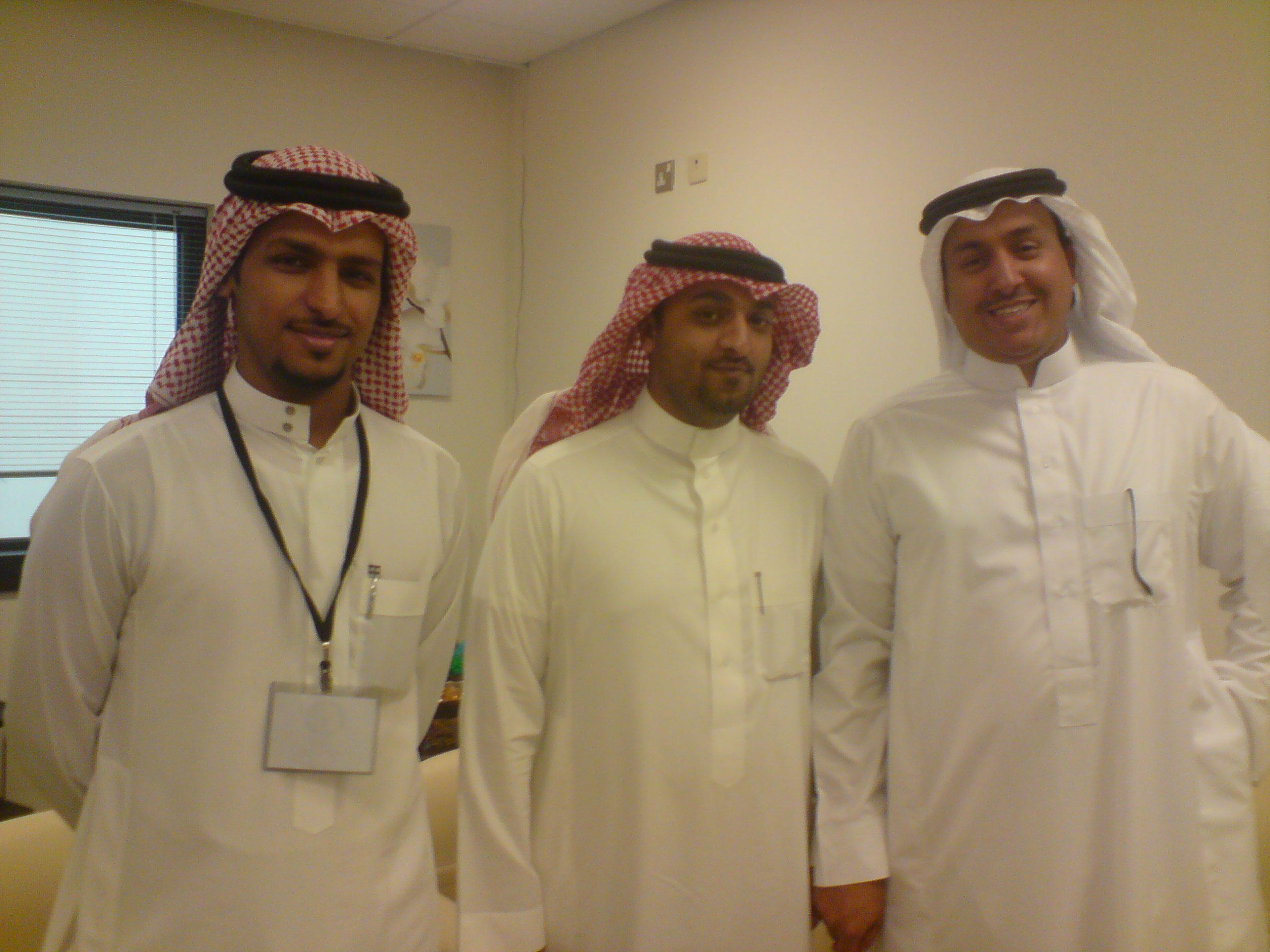 مع الأخوين عبدالرحمن الخراشي 1وتركي السعد