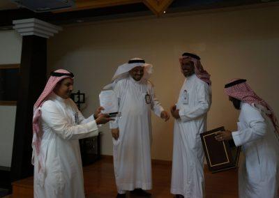 حفل تكريم الأستاذ سلمان الحازمي